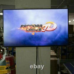 Pandora Box 2448/4000 Dans 1 Jeux Vidéo Arcade Console 3d Hd Rétro 2 Joysticks