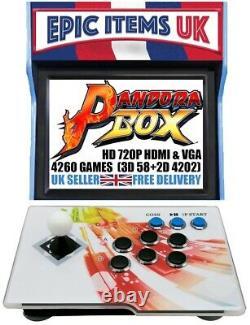 Pandora E-sports Box Single Player Plug & Play Retro Arcade Machine 4260 Jeux
