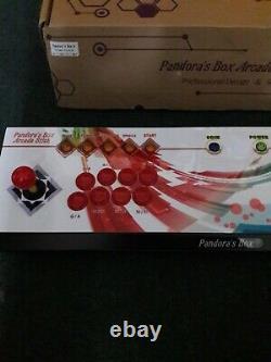 Pandora, S Boîte 6 Jeux Véritables 3a Joystick. Rétro Arcade Jeux 1300