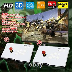 Pandora's Box 8000 Jeux 3d Hd Wifi Arcade Retro Video Console Double Joystick