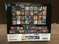 Pc Engine De Base Grafx Mini Console Et Contrôleur Htg-009 Konami Retro Jeu Vidéo