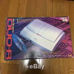 Pc Engine Duor Console Système Pce-duor Nec 1993 Retro Jeu Vidéo