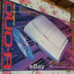 Pc Engine Duor Console Système Pce-duor Nec 1993 Retro Jeu Vidéo Utilisé