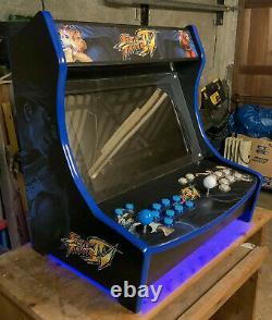 Perso.2 Joueur Rétro Bartop Arcade Machine Retro Console / Mame 13.500 Jeux