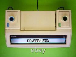 Philips Odyssey 2001 Pong Konsole Tv Jeu Vidéo Box Teleball C64 Magnavox Ovp 70