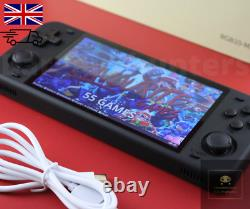Powkiddy Rgb10 Max Uk Rk3326 Retro Handheld Game Console 64gb Gameboy Linux Ouvert