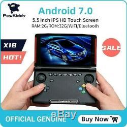 Powkiddy X18 Android Retro Console De Jeu Portable 5,5 Pouces Écran 1280720