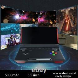 Powkiddy X18 Retro Handheld Game Console 5.5 Pouces 1280720 Écran Wifi Bluetooth