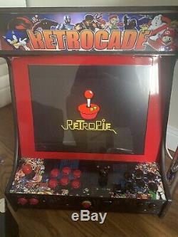 Préf.2 Joueur De Jeu Bartop Arcade Machine Rétro Console / Retropié Table