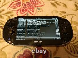 Ps Vita 1000 64 Go Homebrew Avec Chaque Jeu Ps Vita Et Plus De 10.000 Jeux Rétro