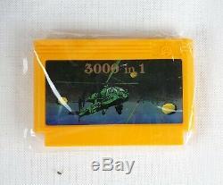 Rare Nouveau Micro Genius Jeu Vidéo Iq-502 Mg-02 Retro Vintage Famicom Clone Nes