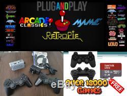 Raspberry Pi 3b Ainsi Que Des Jeux Rétro Console 128go Arcade Gaming 18000+ Retropié