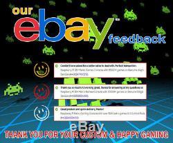 Raspberry Pi 3b + Console De Jeux Rétro Avec 15000+ Jeux Sur Une Véritable 64gb Sandisk