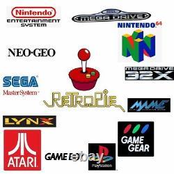 Raspberry Pi 4 2 Go Retropie 64 Go Retro Games Console Kit