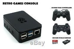Raspberry Pi 4 B Retro Games Console 200 Ou 320 Go Go Arcade Gaming Machine