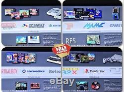 Res Rétro Console De Jeux Retropié Emulator Wireless Controller 64 GB Hdmi 43.000
