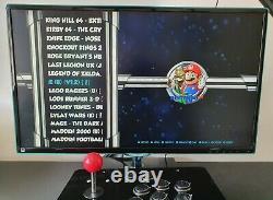 Retro Arcade Machine Console De Jeux (jeux 20.000+) Raspberry Pi4 Retropié