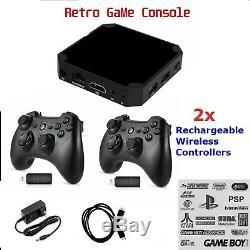 Rétro Console De Jeux Vidéo Intégré Jeux Plug & Play 2 Sans Fil Comme Pandoras Box