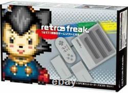 Rétro Freak Controller Adaptateur Set Pour Sfc Retro Game Compatible Super Gray Nouveau