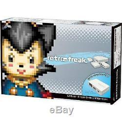 Retro Freak Haut De Gamme Console De Jeux Controller Adapter Set Japon Cy-rf-b Expedited