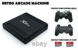 Retro Games Console- 160 Ou 232 Go De Jeu D'arcade De Qualité Avec Aperçus Vidéo