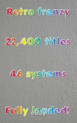 Retro Gaming Machine Raspberry Pi Retropié 22400 En 1 64gb