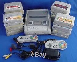 Retro Gaming Pack Super Famicom (japonais) + 30 Jeux (occasion)