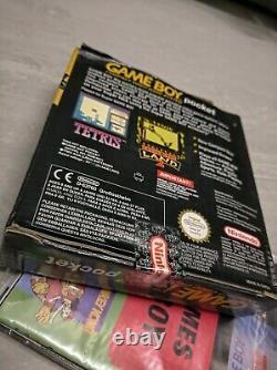 Retro Nintendo Game Boy Pocket Jaune. Unité En Parfait État