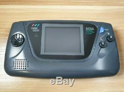 Retro Sega Game Gear Console Portable (véritable Mcwill LCD Nouveau Verre De L'objectif De L'écran)