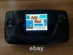 Rétro Sega Game Gear Handheld Console (genuine Mcwill LCD New Glass Screen Lens)