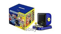 Retro Station Accueil Console De Jeu Vidéo + 10 Titres Jeux Capcom Rockman