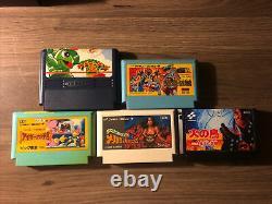 Retro Usb Avs Hd Système Nintendo Nes Avec 2 8bitdo Controllers + 5 Jeux Famicom