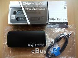 Retrode 2 (ii) Adaptateur Usb Pour Nintendo Rétro + Sega Voiturettes De Jeux Vidéo (snes + Md)