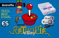 Retropié 128go Raspberry Pi 3 Retro Gaming Console Entièrement Équipé