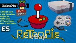 Retropié Raspberry Pi 3 Console De Jeux Retro Kit Système Complet