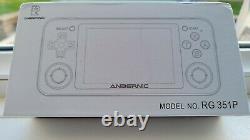 Rg351p 128go 10k Games Nouvelle Console De Jeux Rétro Portable / Black Uk Seller