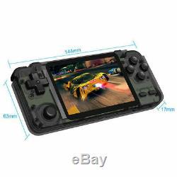 Rk2020 Joueur Quad-core Console De Jeux Vidéo 3.5 Écran Rétro Jeu + Carte 32go