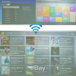 Royaume-uni! Wifi Pandora Box 9s 2448 Dans 1 Retro Jeux Vidéo Double Arcade Stick Console