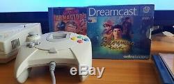 Sega Dreamcast Bundle Boxed. Vgc Console Rétro. 8 Jeux