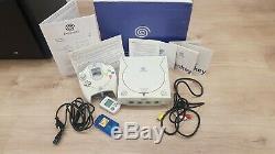 Sega Dreamcast Retro Console De Jeu Complet Boxed Bundle! Copain