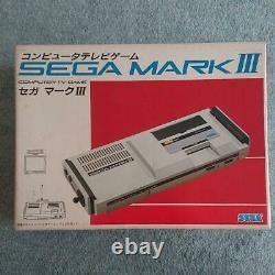 Sega Mark 3 III Retro Console De Jeu Sega Enterprises Sg-1000-m3
