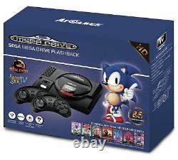 Sega Mega Drive Flashback Mini Hd Console Nouveau Retro Old School 85 Jeux