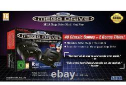 Sega Mega Drive Mini Console Avec 40 Jeux Classiques Retro Toy Flambant Neuf