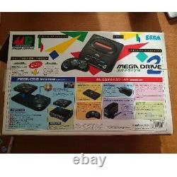 Sega Mega Drive2 Console System Haa-2502 Vintage 1993 Retro Video Game