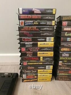 Sega Megadrive Console Bundle 29 Retro Games Vintage Aucun Contrôleur