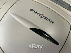 Sega Saturn Hst-3220 Jeux Vidéo Japon Câble Ac Vidéo Contrôleur De La Console