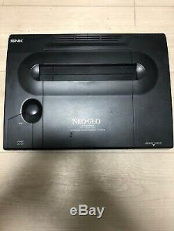 Snk Neo Geo Aes Neogeo Japon Retro Gaming Full Set Arcade Jeu Testé Ok