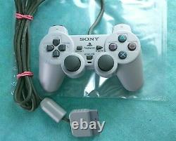 Sony Playstation 1 Konsole + Ovp + Contrôleur + Spiel + Kabel Ps1 Retro Gaming
