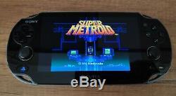 Sony Ps Vita Avec Les Émulateurs De Jeux Rétro Snes, Genesis, Game Boy Plus De 1200 Jeux