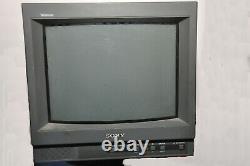 Sony Trinitron Color Video Pvm-14l1for Consoles De Jeux Rétro Avec Cordon